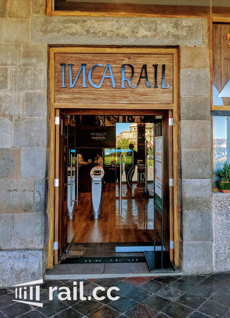 IncaRail Office entrance