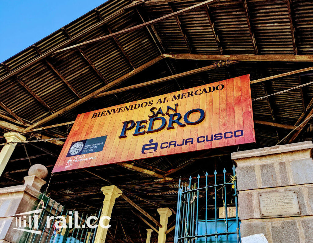 Entrance to San Pedro Market