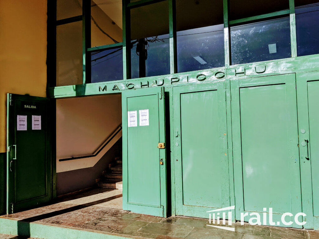 Entrance to San Pedro Station