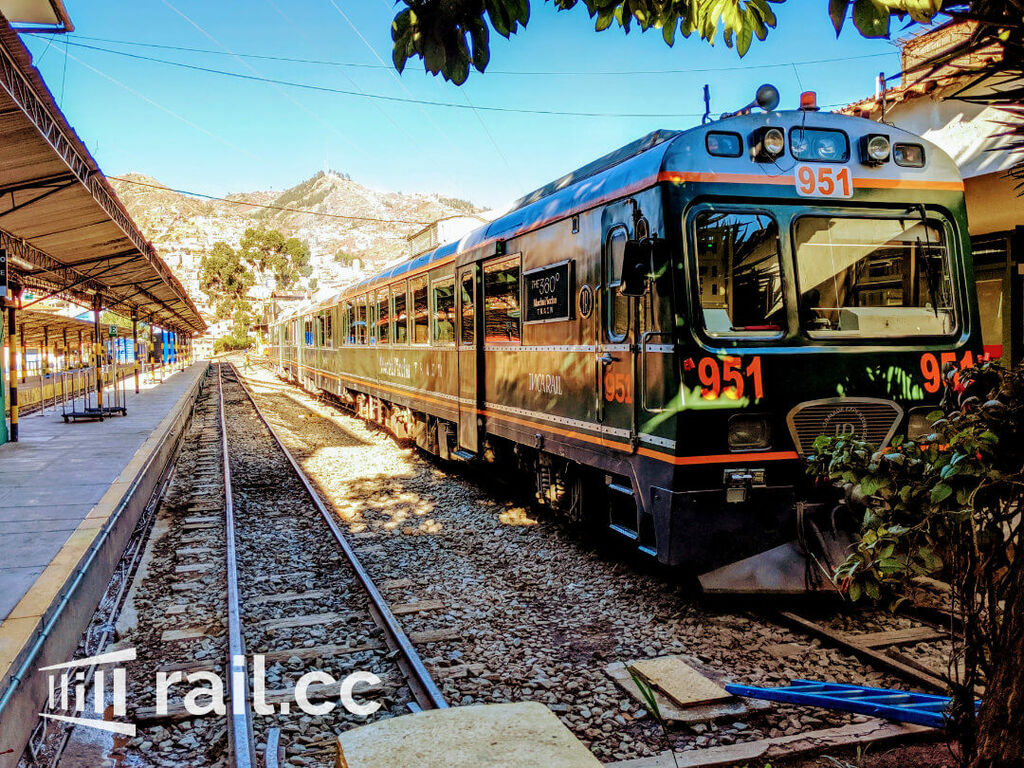 The MachuPicchu train in Peru