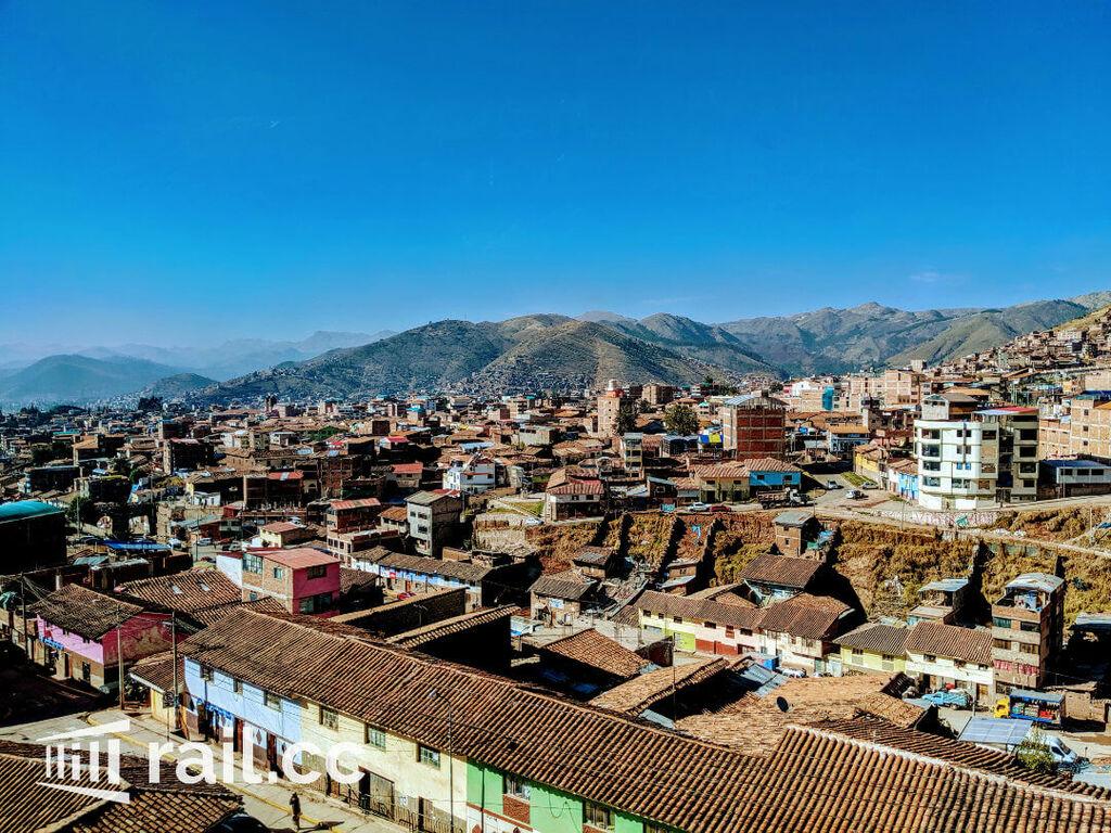 Views leaving Cusco