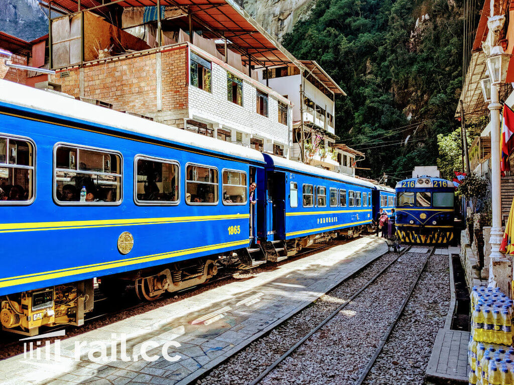 PeruRail Station for the local train and cargo trains